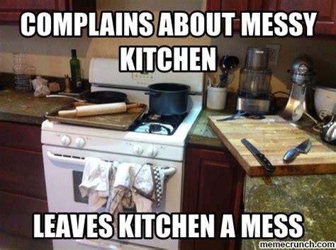 Mess Meme - kitchen mess