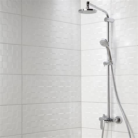 prix pose salle de bain impressionnant prix pose faience salle de bain 17 fa239ence mur blanc mat d233cor relief cube