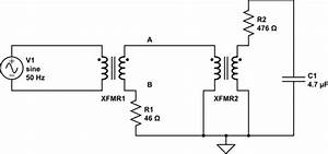 Ac - Phase Difference Of Voltages At One Side Of A Transformer