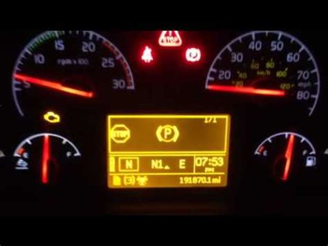 volvo  speed sensor fail youtube