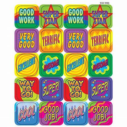 Stickers Stars Teacher Covers Teachercreated 1990 Resources