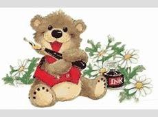 Animierte Bären Gifs Blumen GifParadies