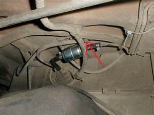 Fuel Vent Lines  Evac Connection