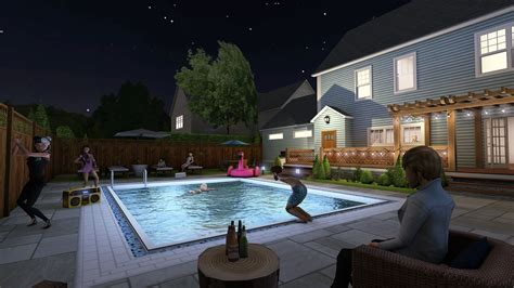 night suburban lane avakin cypress official