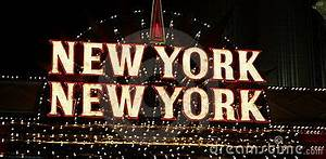 New York Neon Sign Royalty Free Stock graphy Image