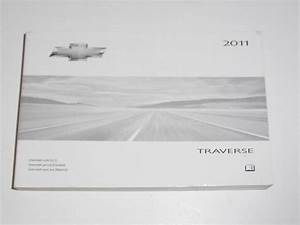 2011 Chevrolet Traverse Owners Manual Book Guide