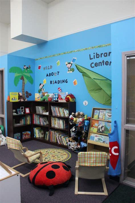 jungle themed library center classroom ideas