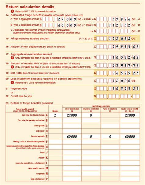 ato tfn application form rebatable employers australian taxation office