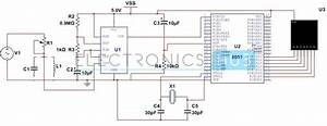 Dtmf Circuit 8051 Tutorial Amp Projects T Circuit Diagram