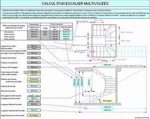 Calcul Escalier Quart Tournant : calcul d 39 un escalier multi vol es escalier pinterest ~ Dailycaller-alerts.com Idées de Décoration