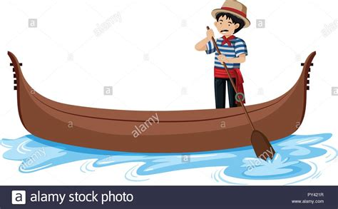 Gondola Cut Out Stock Images & Pictures - Alamy