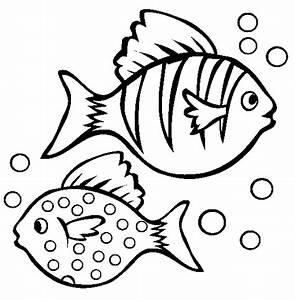 Fish Coloring Pages | kids world
