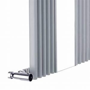 Heizkörper Rohre Verkleiden : design heizk rper vertikal silber mit spiegel 935 watt 1600mm x 420mm keida heizk rper spiegel ~ Yasmunasinghe.com Haus und Dekorationen