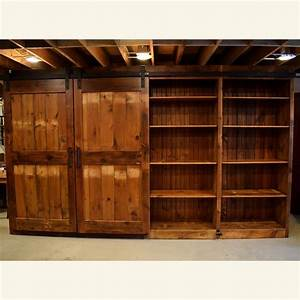Either or barn door entertainment cabinet Furniture From