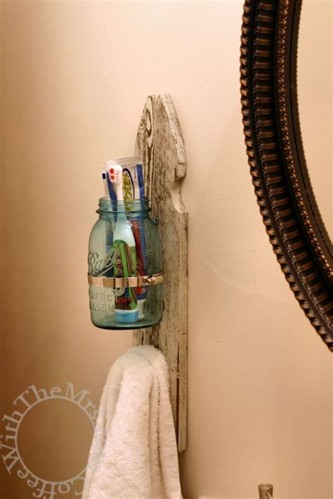 diy toothbrush holders  highlight  bathroom decor