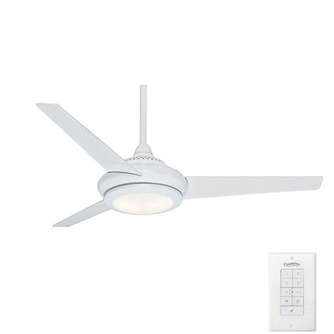 casablanca ceiling fans home depot casablanca tercera 52 in indoor snow white ceiling fan