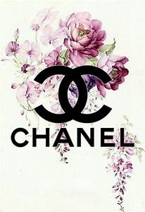 Coco Chanel Bilder : chanel no5 print a4 blue with succulent watercolor by hellomrmoon art classic chanel ~ Cokemachineaccidents.com Haus und Dekorationen