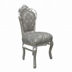 Chaise Style Baroque : chaise baroque galerie photo des chaises ~ Teatrodelosmanantiales.com Idées de Décoration