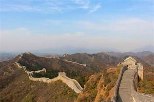 sneaking onto remote sections of the great wall of china With deserted great wall of china