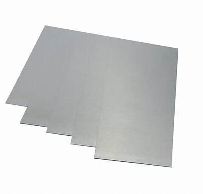 Sheet Flat Aluminium Plate Anodised Natural Grade