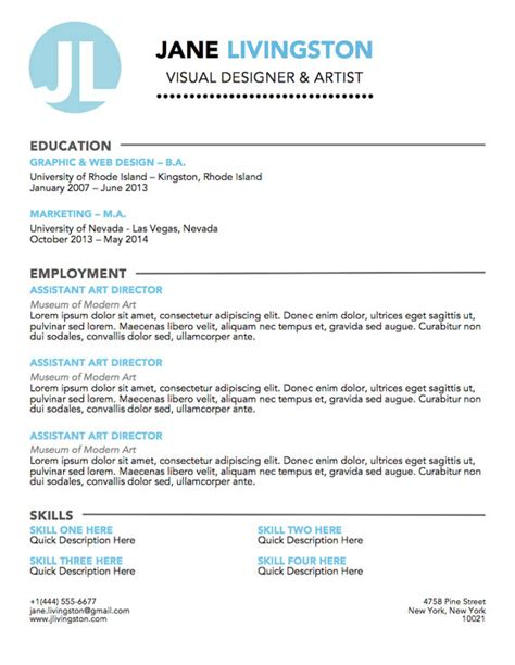 14815 resume personal logo items similar to personal logo resume template easy to
