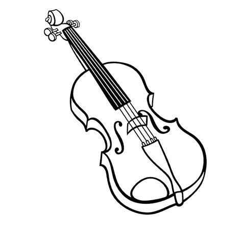 Instrument Kleurplaat by Leuk Voor Viool