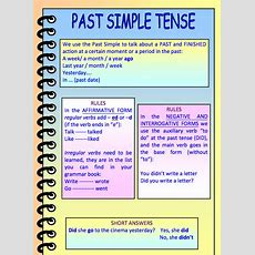 My English World Past Simple Tense