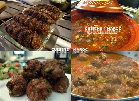 cuisine coriandre viande recettes de viandes marocaines