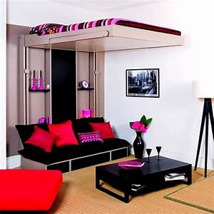 cool furniture for teens creative teen girl rooms cool With girly bunk beds for kids and teenagers