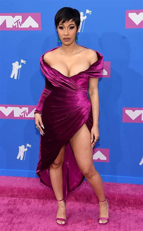 videos hot de musica cardi b s 2018 mtv video music awards look is equal parts