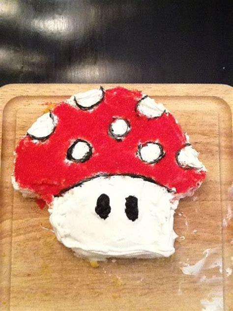 Super Mario Mushroom Cake Pic Global Geek News
