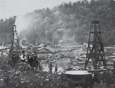kerosene l history a strange visit to the pennsylvania my