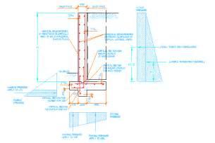 rc design rc retaining wall design