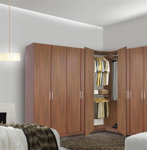 Wardrobe Closet For Small Spaces by The Corner Wardrobe Your Spacious Solution For The