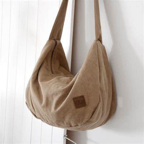 classic elegant canvas bag hobo bag  colors  canvasbags