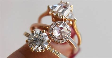 how to out flattering engagement rings who what wear