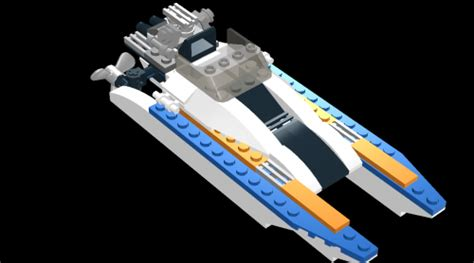 How To Draw A Lego Boat by Lego Boat Picture By Brett Drawingnow