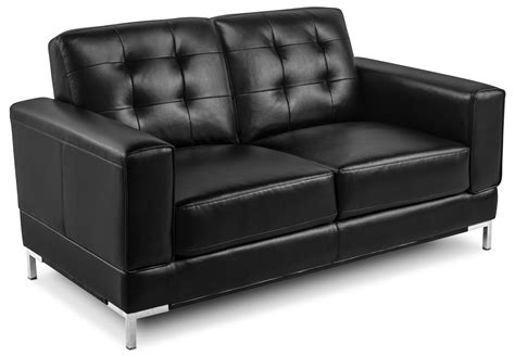 leather and fabric loveseat myer leather like fabric sofa and loveseat black