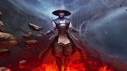Raiden 4k Mortal Kombat Ultra Desktop Strongest