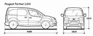 Dimensions Peugeot Partner : kies uw bagagerek ~ Medecine-chirurgie-esthetiques.com Avis de Voitures