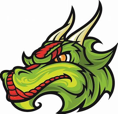 Dragon Head Clipart Cartoon Vector Clip Face