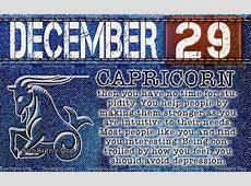 December 29 Zodiac Horoscope Birthday Personality