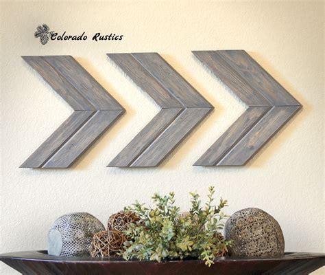 wall decor arrow wall chevron arrow wall décor rustic by
