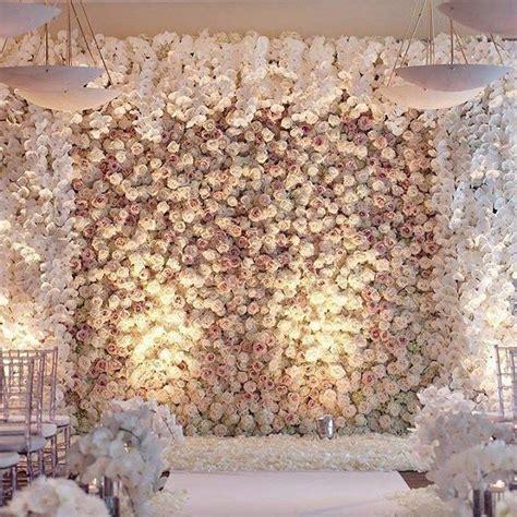 62 extravagant white indoor wedding ceremony 47 62
