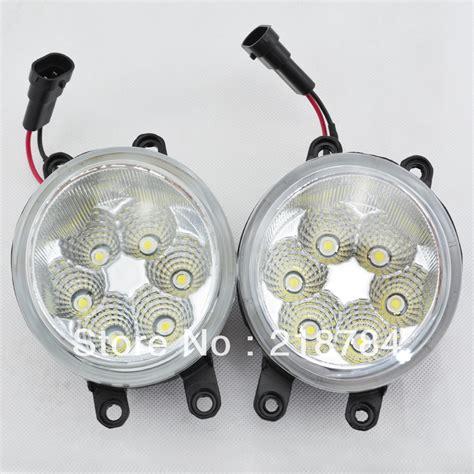 6500k white led day driving light front fog light bulb
