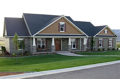 Craftsman Style House Plan 4 Beds 3 5 Baths 2800 Sq/Ft