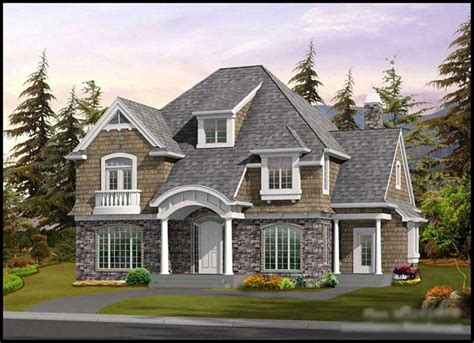 Shingle Style House Plans A Home Design With New England