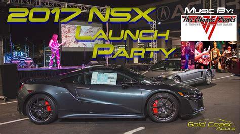 gold coast acura 2017 acura nsx launch party teaser