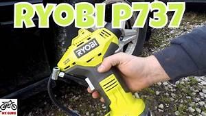 Ryobi P737 18 Volt Air Compressor Power Inflator Review