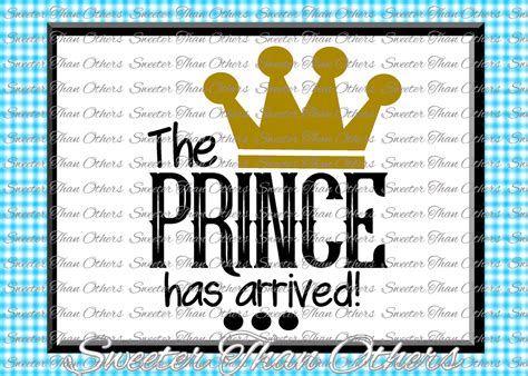 13 free baby onesie svgs including milk monster cut file. Baby Boy SVG, The Prince has Arrived, onesie cut file, boy ...